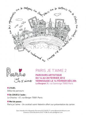 Paris je t'aime 2, le parcours artistique