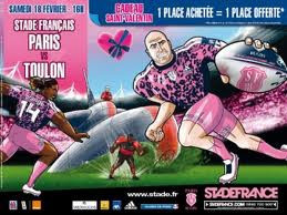 Rugby, Stade Français Paris vs Toulon