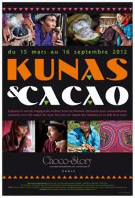 Kunas & Cacao, exposition choco story, musée gourmand du chocolat