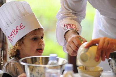 Atellier de cuisine pour enfants chez Clément