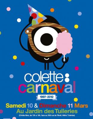 colette carnaval, jardin des tuileries