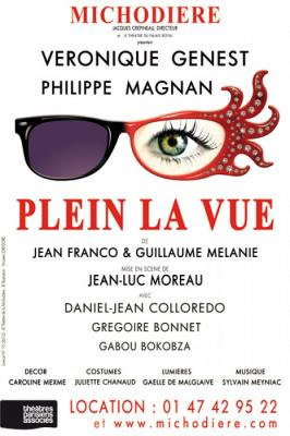 Plein la vue, au Théâtre de la Michodière, véronique genest