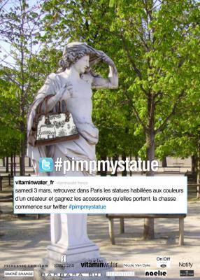 Pimp my Statue, vitaminwater