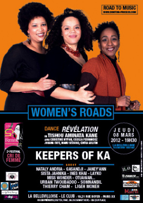 Road to Music #4 – Women's roads avec The Keepers of Ka