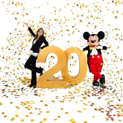 20 ans de Disneyland Paris avec Sandrine Quétier, TF1, MYTF1