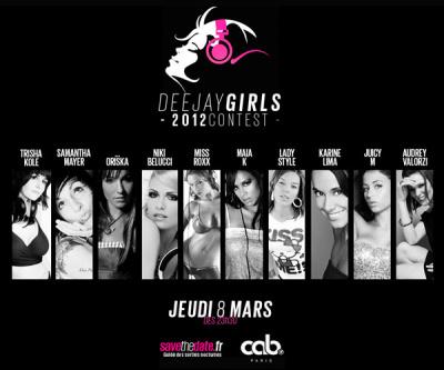 Deejaygirls 2012 contest au cab