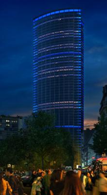 La Tour Montparnasse s'habille de nouvelles lumières