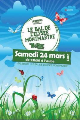Le Bal de l'Elysée Montmartre fête le Printemps