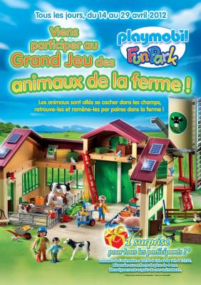 Les vacances de Pâques au Playmobil Funpark, 2012