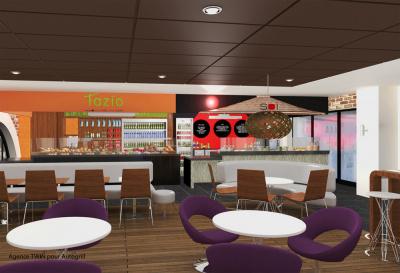 Les restaurants du nouvel espace commercial saint lazare - Restaurant gare saint lazare ...