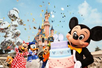 20 ans disneyland paris, restaurants, menu spécial anniversaire disney