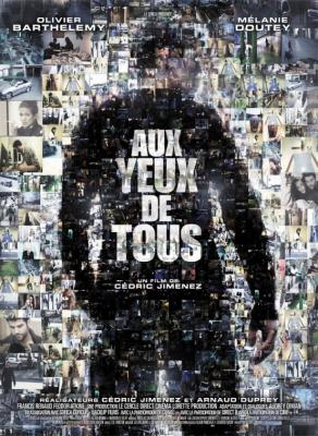 """L'équipe du film """"Aux yeux de tous"""" à l'Aplle Store Opéra ce 29 mars"""