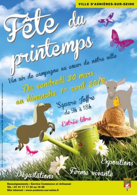La Fête du Printemps asnières 2012