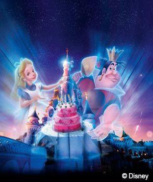 Disneyland paris vous offre votre billet gratuit pour votre anniversaire pour ses 20 ans - Salon creation et savoir faire billet gratuit ...