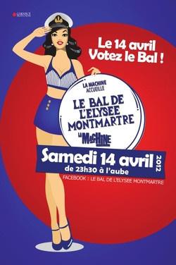 Le Bal de l'Elysée Montmartre, votez le bal ce 14 avril