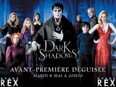 Dark Shadow en avant-première déguisé au Grand Rex