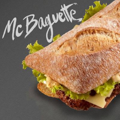 Le Mc Baguette débarque au Mc Donald's