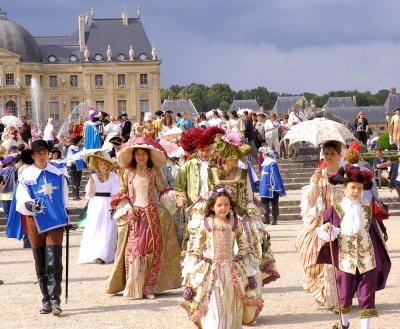 La Journée Grand Siècle 2012 au Château de vaux le Vicomte