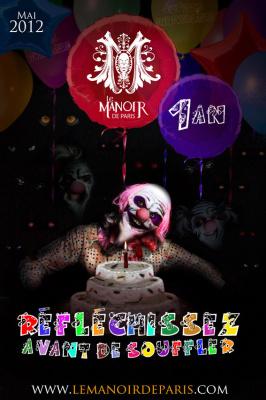 Le Monstrueux anniversaire du Manoir de Paris