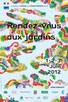 Rendez-vous aux jardins 2012 à Paris