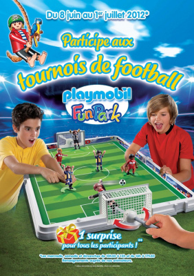 Les tournois de football au Playmobil Funpark