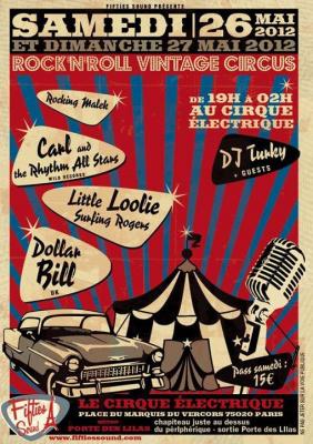 Le Rock'n roll vintage Circus Festival au Cirque Electrique