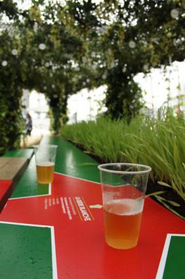 Le Jardin du Brasseur Heineken sur le Parvis de la Défense