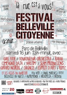 Festival Belleville Citoyenne 2012