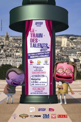 La Finale du Train des talents iDTGV 2012 au Palais des Glaces