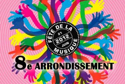 La Fête de la Musique 2012 à la Mairie du 8e et à l'Espace Beaujon