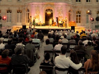 Le Festival d'été au Château d'Asnières sur Seine 2012