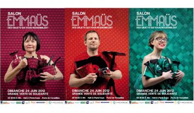 Le Salon Emmaüs 2012 , Porte de Versailles