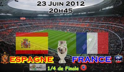 match france espagne au stade charlety, euro 2012