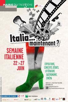 La Semaine Italienne à Paris 13ème : Italia... maintenant ?