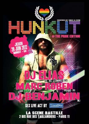 Opening Party : Hunkut - Paris Circuit Party