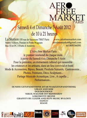 afro free market, la station