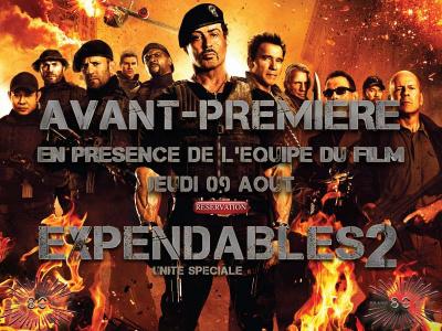 Expendables 2 en avant-première au Grand Rex avec l'équipe du film