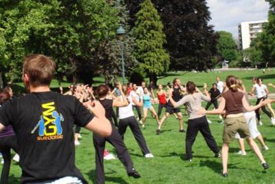 Les cours gratuits de Gym Suédoise en plein air à Paris