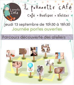 Le Poussette Café vous fait découvrir gratuitement ses ateliers