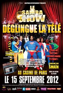 Le Samba Show déglingue la télé au Casino de Paris