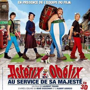 Obélix et Astérix 4 en avant-première au Grand Rex avec l'équipe du film