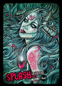 Splash #21 à la Machine du Moulin Rouge