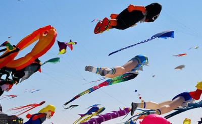 Paris Plane 2012, Cerfs volants et kite au programme !