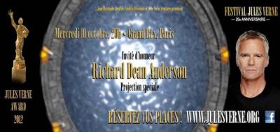 Festival Jules Vernes 2012 à Paris accueille Richard Dean Anderson