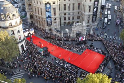 Le plus grand défilé du monde 2012 aux Galeries Lafayette