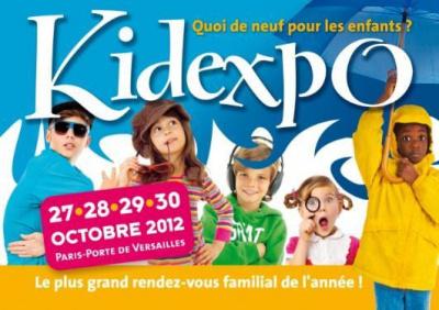 Kidexpo 2012, affiche kidexpo