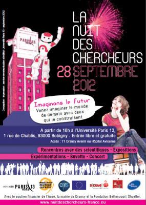 La nuit des chercheurs 2012 à l'université paris 13