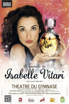 Isabelle Vitari au Théâtre du Gymnase : gagnez vos places gratuites