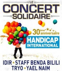concert solidaire handicap international