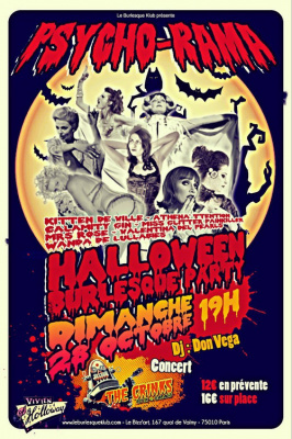 Halloween Burlesque Party au Bizz'Art
